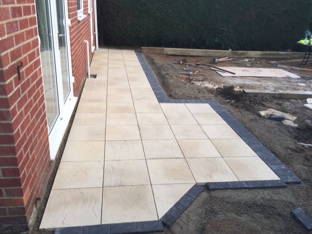 Stage 2- New Patio
